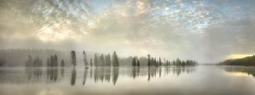 River of Silence 2011 Panorama by Rodney Lough, Jr.