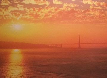 Glisten Golden - San Francisco 15x40  Huge Panorama - Rodney Lough, Jr.