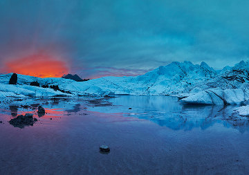 Fire and Ice AP Panorama by Rodney Lough, Jr.