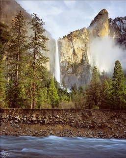 Bridal Veil Falls Panorama by Rodney Lough, Jr.