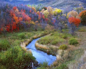 Sweet Autumn Evening Panorama - Rodney Lough, Jr.