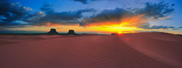 Smiling Down on Us All Panorama by Rodney Lough, Jr.