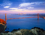 Golden Gate, San Francisco 2006 Panorama - Rodney Lough, Jr.