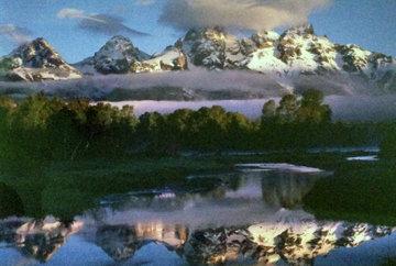 Misty Morn II  1990 Panorama by Rodney Lough, Jr.