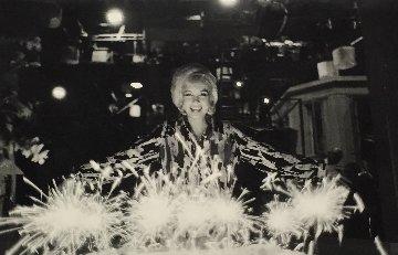 Marilyn Monroe Birthday Cake 1962 Photography - Lawrence Schiller