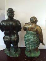 Donna Bella Bronze Sculpture 1979 Sculpture by Bruno Luna - 3