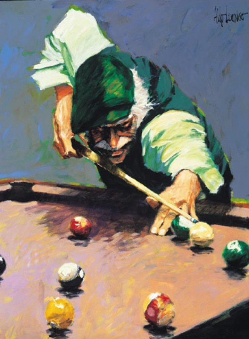Billiards 2005 Limited Edition Print by Aldo Luongo