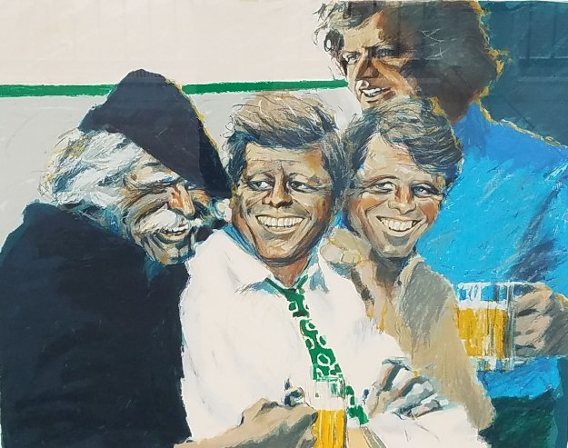 Hawk And the Brothers 1984 Limited Edition Print by Aldo Luongo