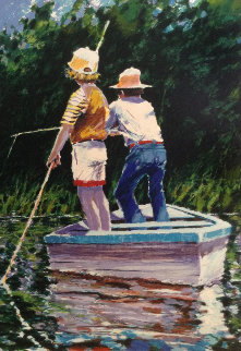Summer Fishing 1983 Limited Edition Print - Aldo Luongo