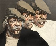 Three Expressions AP Limited Edition Print by Aldo Luongo - 0