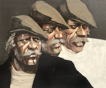 Three Expressions AP Limited Edition Print by Aldo Luongo