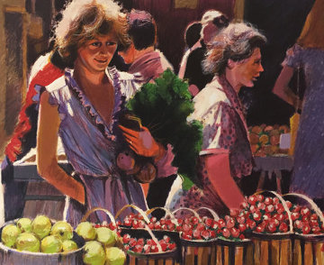 Strawberries For Lunch AP   1983 Limited Edition Print by Aldo Luongo