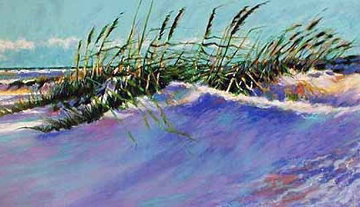 Windy Beach 1988 Limited Edition Print by Aldo Luongo