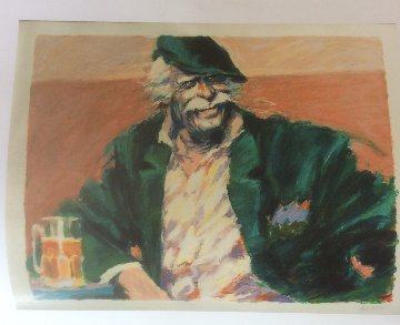 Brew at Gardels 1985 Limited Edition Print by Aldo Luongo