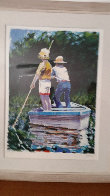 Summer Fishing 1983 Limited Edition Print by Aldo Luongo - 1