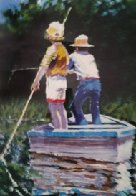 Summer Fishing 1983 Limited Edition Print by Aldo Luongo - 0