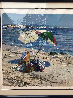 Two Umbrellas AP 1986 Limited Edition Print by Aldo Luongo - 1