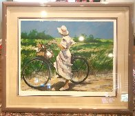 Country Bike Ride AP 1987 Limited Edition Print by Aldo Luongo - 2