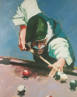 Billiards 1996 Limited Edition Print - Aldo Luongo
