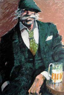 Afternoon Beer 1990 Limited Edition Print by Aldo Luongo