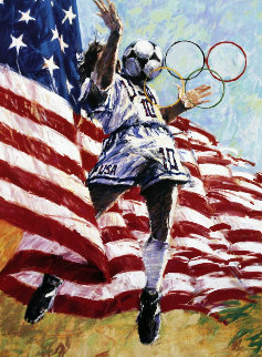 America's Team Soccer 1996 Limited Edition Print - Aldo Luongo