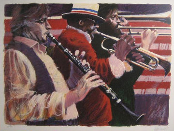 Dixieland Limited Edition Print by Aldo Luongo