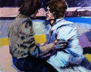 Love Scene II 1984 Limited Edition Print - Aldo Luongo