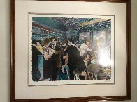 Tango At the Glass Palace 1987 Limited Edition Print by Aldo Luongo - 1