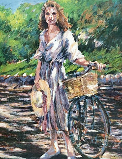 A Sunny Ride Thru Palermo  PP 1990 Limited Edition Print by Aldo Luongo