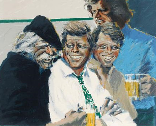 Hawk and Brothers 1984 Limited Edition Print by Aldo Luongo
