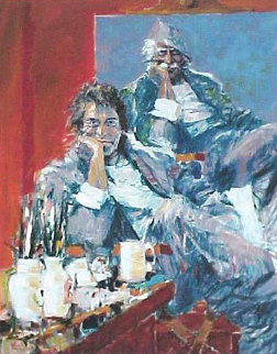 Two Faces of the Hawk 2003 Limited Edition Print - Aldo Luongo