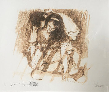Afternoon Lovers w Remarque Limited Edition Print - Aldo Luongo