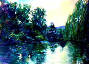 Homage to Monet 1987  Limited Edition Print - Aldo Luongo