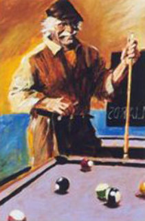 La Sirena Billiards  Limited Edition Print - Aldo Luongo