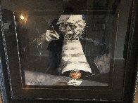 Guys Night Out  1990 42x47  Huge Original Painting by Aldo Luongo - 1