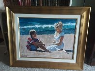 Summer Whispers 30x40 Super Huge Original Painting by Aldo Luongo - 2