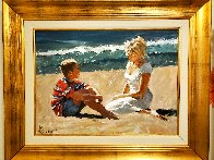 Summer Whispers 30x40 Super Huge Original Painting by Aldo Luongo - 1
