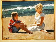 Summer Whispers 30x40 Super Huge Original Painting by Aldo Luongo - 3