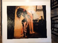 Another Saturday Evening Embellished Limited Edition Print by Aldo Luongo - 1