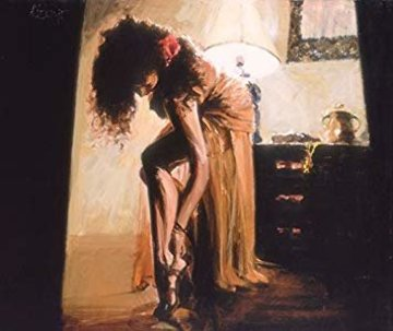Another Saturday Evening Embellished Limited Edition Print by Aldo Luongo
