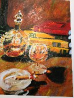 Night Cap Embellished Limited Edition Print by Aldo Luongo - 4