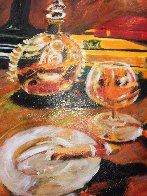 Night Cap Embellished Limited Edition Print by Aldo Luongo - 3