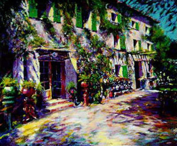 Study for Casa De Campo AP 1993 Limited Edition Print - Aldo Luongo