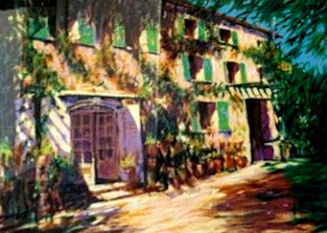 Study For Casa De Campo Limited Edition Print - Aldo Luongo