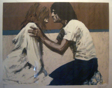 By the Beach 1989 Limited Edition Print by Aldo Luongo