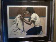 By the Beach 1989 Limited Edition Print by Aldo Luongo - 1