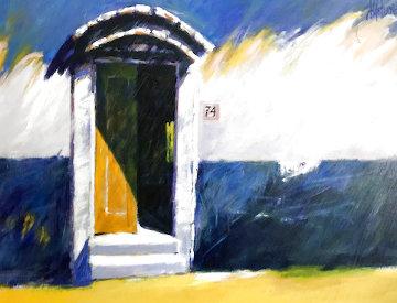La Porta 2000 24x30 Original Painting - Aldo Luongo