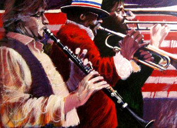 Dixieland 1982 Limited Edition Print - Aldo Luongo