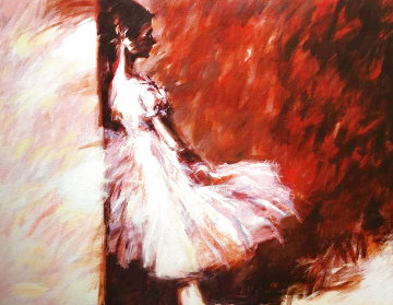 Red Ballerina   Limited Edition Print - Aldo Luongo