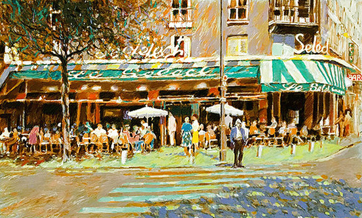 Cafe Select 1986 Limited Edition Print by Aldo Luongo